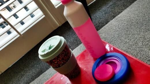 Minder plastic afval